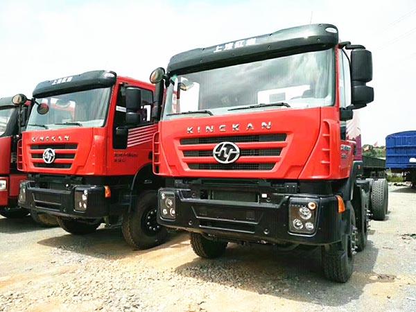 新车,国5依维柯发动机,390马力到430马力,5.8米~8.8米,H8B新款桥,货箱厚薄高矮长短选配